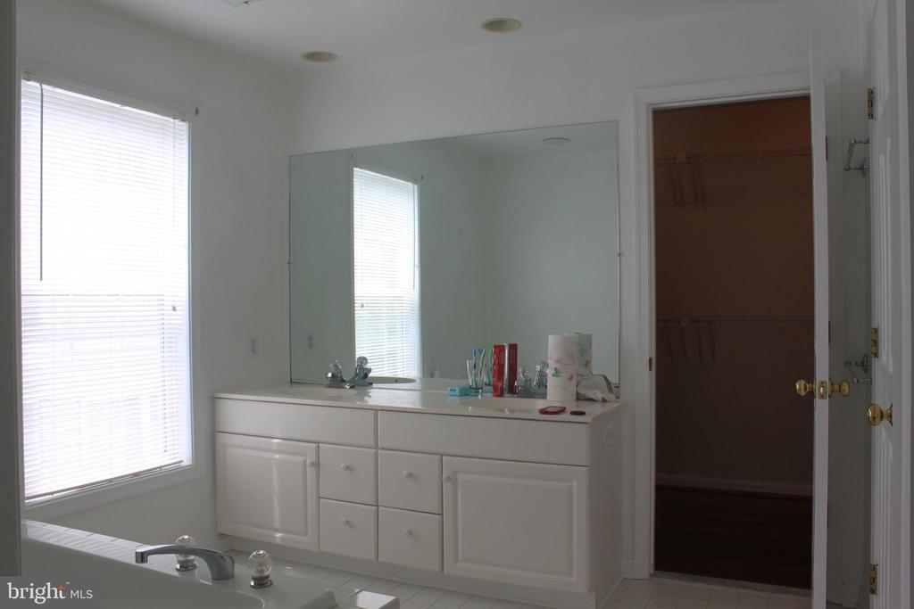 Master Bathroom - 43212 GOLF VIEW DR, CHANTILLY