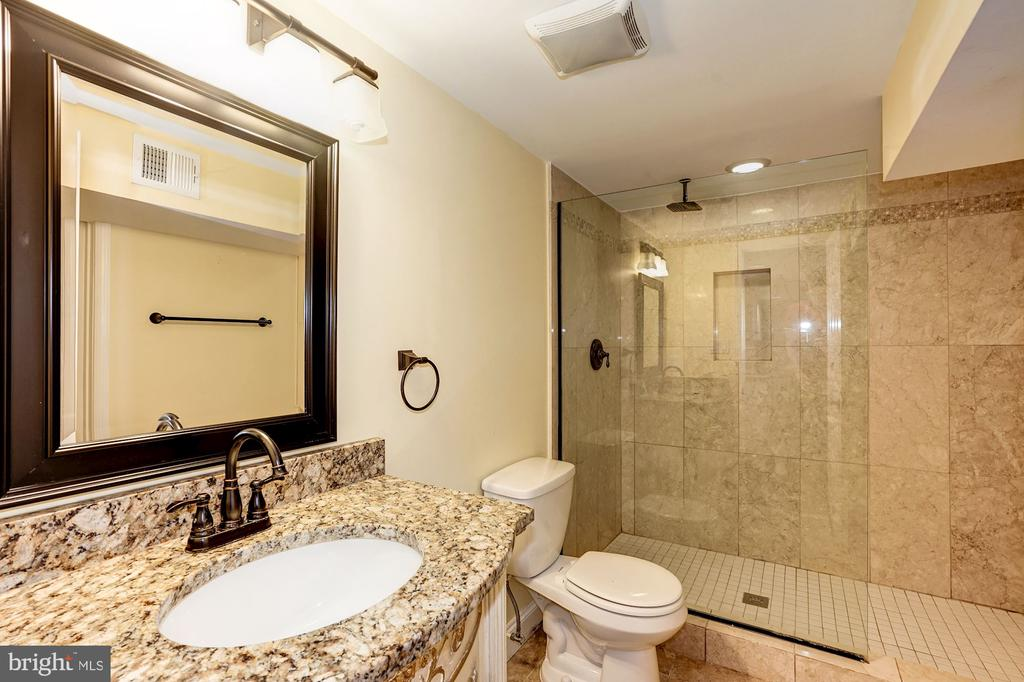 Full bath lower level - 4324 FERRY LANDING RD, ALEXANDRIA