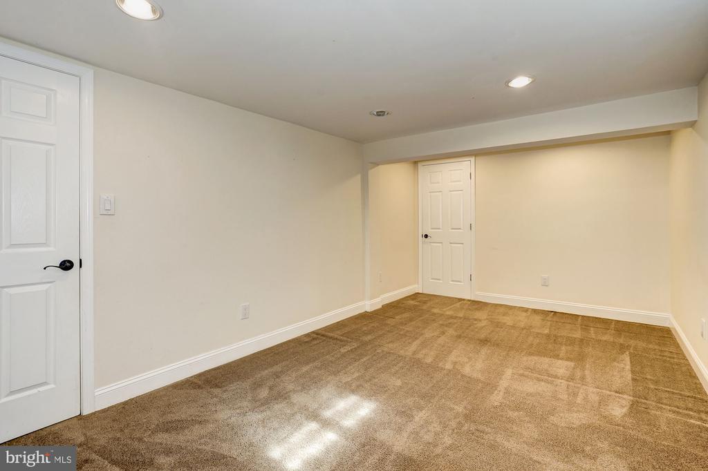 Lower level bedroom - 4324 FERRY LANDING RD, ALEXANDRIA