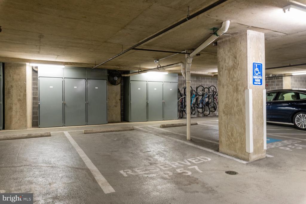 Assigned Parking Space - 555 MASSACHUSETTS AVE NW #1201, WASHINGTON