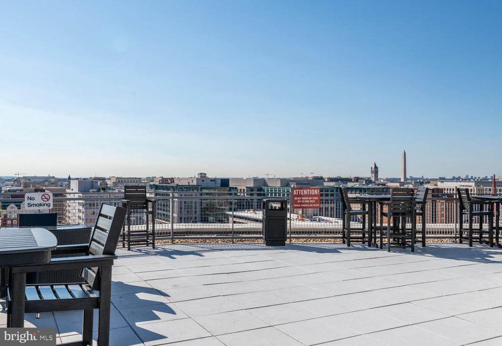 Rooftop - 555 MASSACHUSETTS AVE NW #1201, WASHINGTON