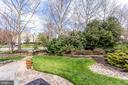 Landscaping creates lots of privacy - 25292 RIPLEYS FIELD DR, CHANTILLY