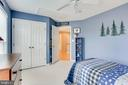 Third upper level bedroom - 25292 RIPLEYS FIELD DR, CHANTILLY