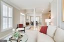 Crown molding and custom paint - 25292 RIPLEYS FIELD DR, CHANTILLY