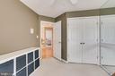 Fourth upper level bedroom - 25292 RIPLEYS FIELD DR, CHANTILLY