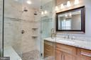 Luxury master bathroom, recently updated - 25292 RIPLEYS FIELD DR, CHANTILLY