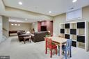 Ideal space for kids playroom/flex space - 25292 RIPLEYS FIELD DR, CHANTILLY