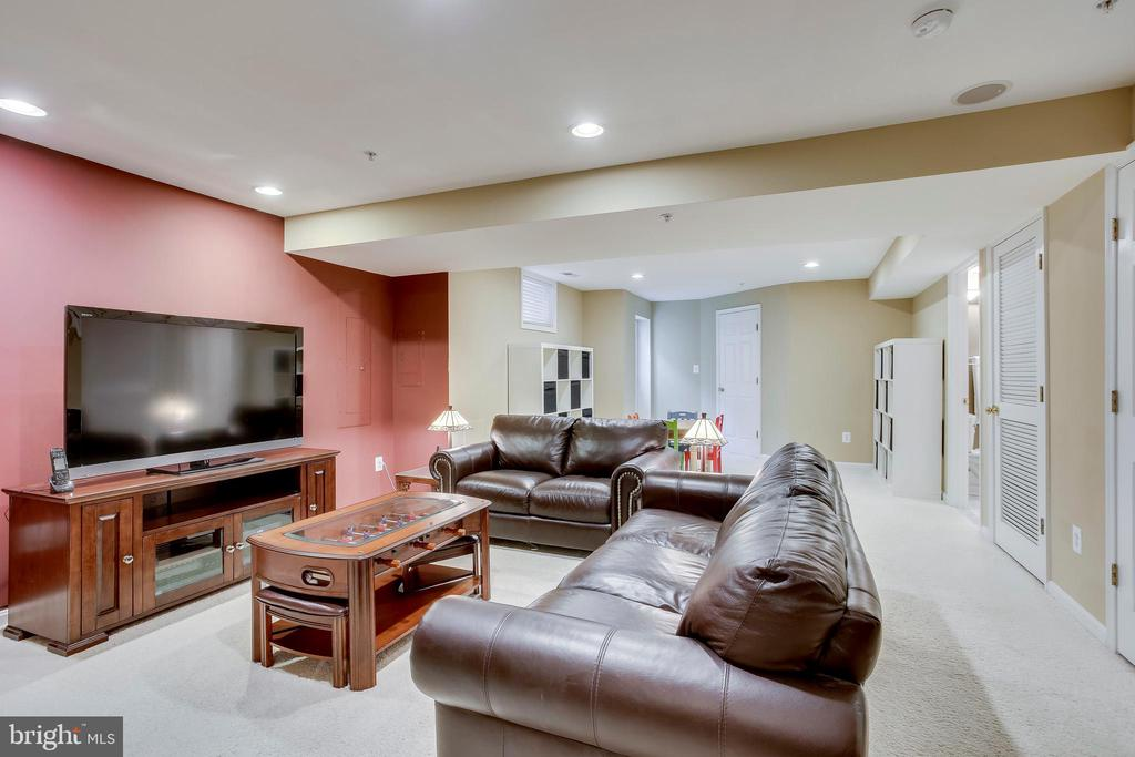 Large recreation room - 25292 RIPLEYS FIELD DR, CHANTILLY