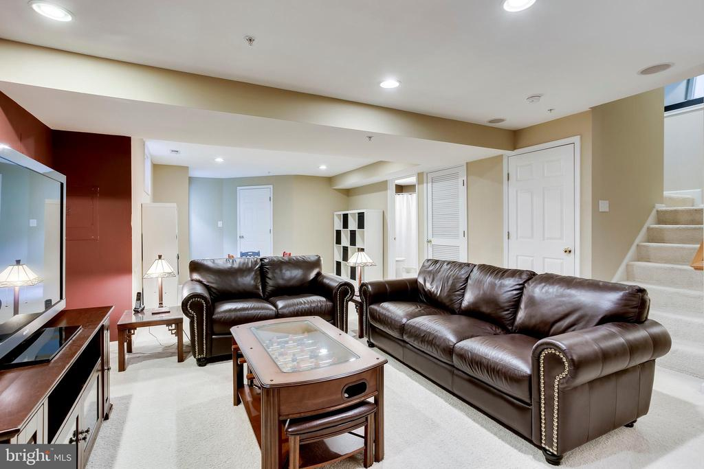 Fully finished lower level - 25292 RIPLEYS FIELD DR, CHANTILLY