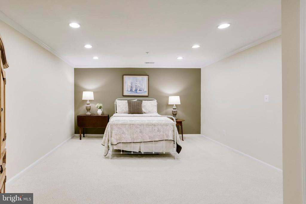 Large den, currently used as additional bedroom - 25292 RIPLEYS FIELD DR, CHANTILLY