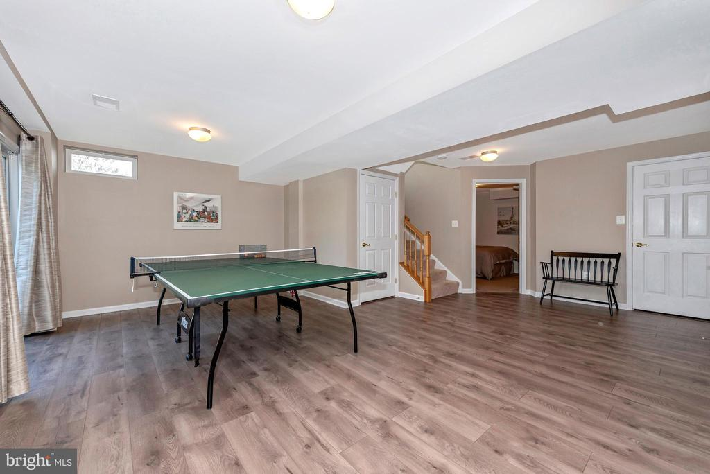 basement rec space - 9331 HILLSBOROUGH TER, FREDERICK