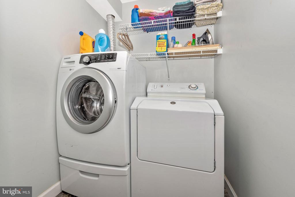 laundry - 9331 HILLSBOROUGH TER, FREDERICK