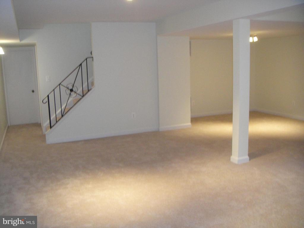 Finished Basement recreation room - 3296 TILTON VALLEY DR, FAIRFAX