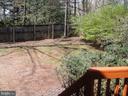 Exterior back yard - 3296 TILTON VALLEY DR, FAIRFAX