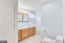 Upper Level Master Bathroom - 1745 ANDERSON RD, FALLS CHURCH