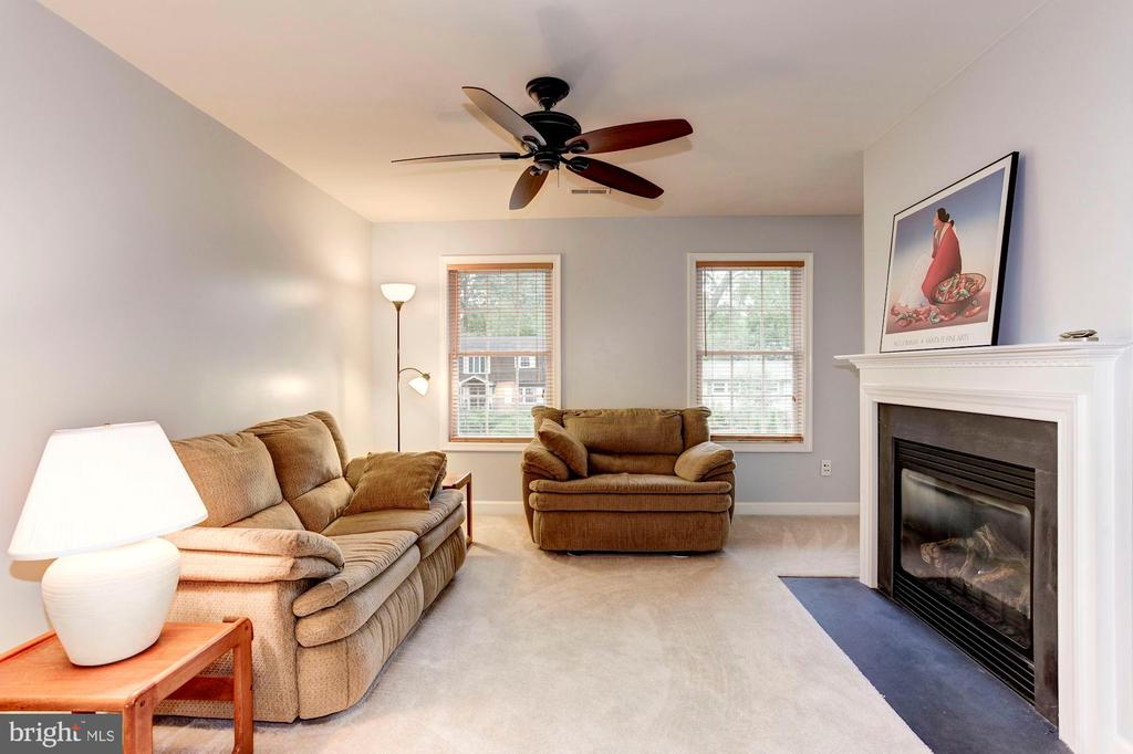 The sitting room right outside the Master Bedroom - 8643 WOODWARD AVE, ALEXANDRIA