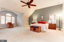 Large Master Bedroom - 8643 WOODWARD AVE, ALEXANDRIA