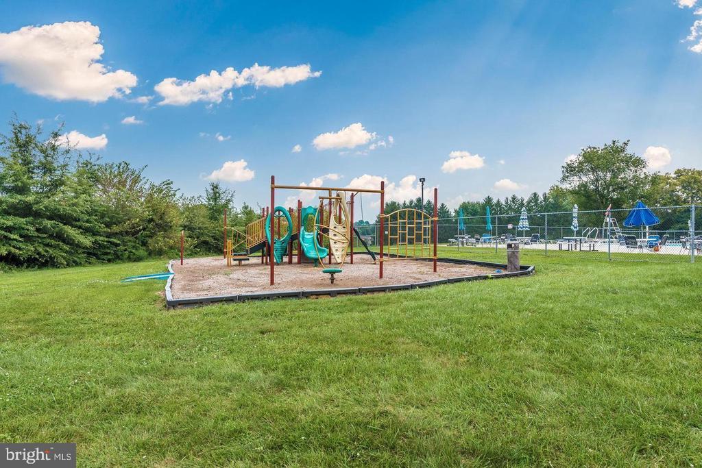 Playground area at the community pool - 108 SANDALWOOD CT, WALKERSVILLE
