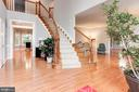 Let's check out the upstairs.. right this way! - 8643 WOODWARD AVE, ALEXANDRIA