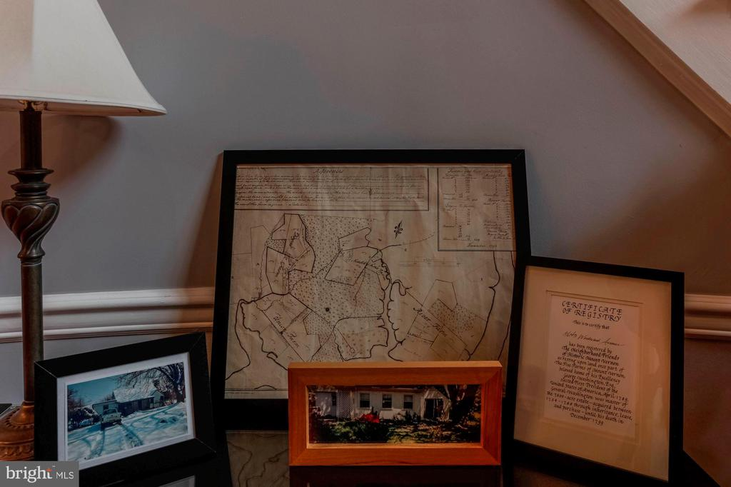 Historic documents regarding George's old farm - 8643 WOODWARD AVE, ALEXANDRIA