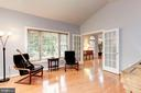 The large picture window offers great ambiance - 8643 WOODWARD AVE, ALEXANDRIA