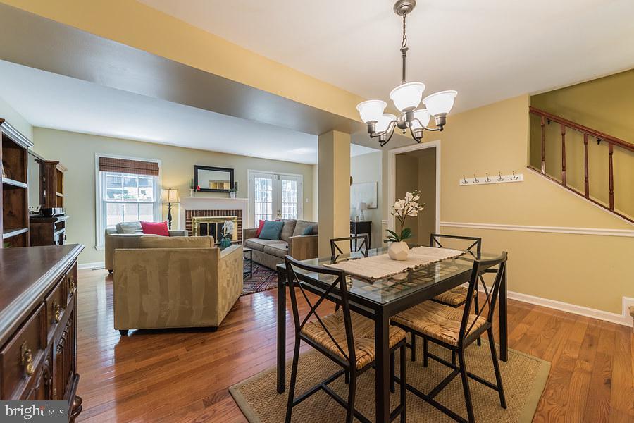 Separate dining room - 2552-C S ARLINGTON MILL DR #2, ARLINGTON