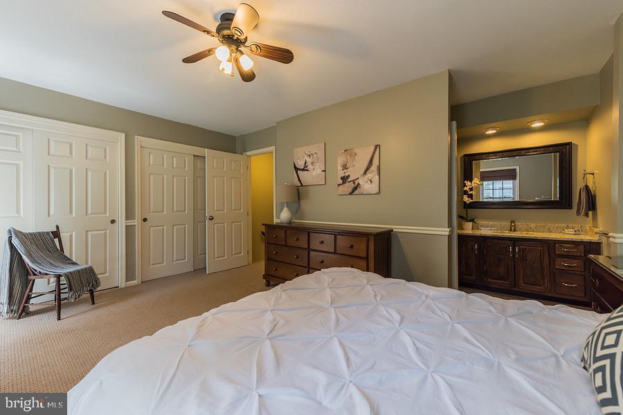 1st master bedroom - so much closet space - 2552-C S ARLINGTON MILL DR #2, ARLINGTON