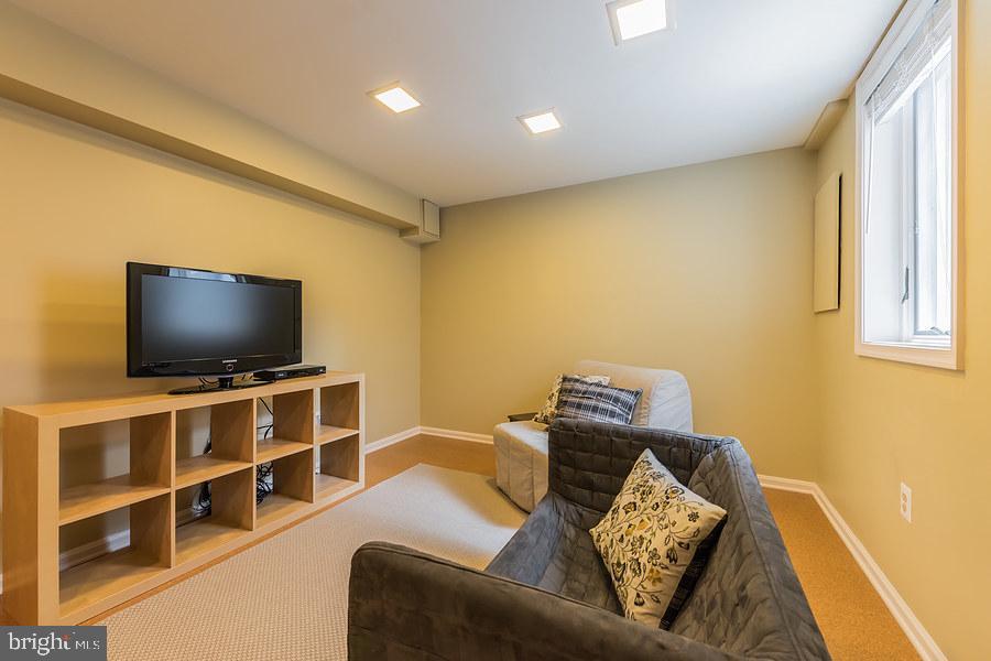 Lower level family room - 2552-C S ARLINGTON MILL DR #2, ARLINGTON