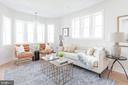 Living Area - 5123 45TH ST NW, WASHINGTON