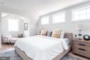 Master bedroom with built-ins & walk-in closet - 5123 45TH ST NW, WASHINGTON