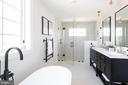 Luxurious master bath - 5123 45TH ST NW, WASHINGTON