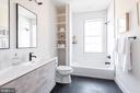 Double vanity full bath - 5123 45TH ST NW, WASHINGTON