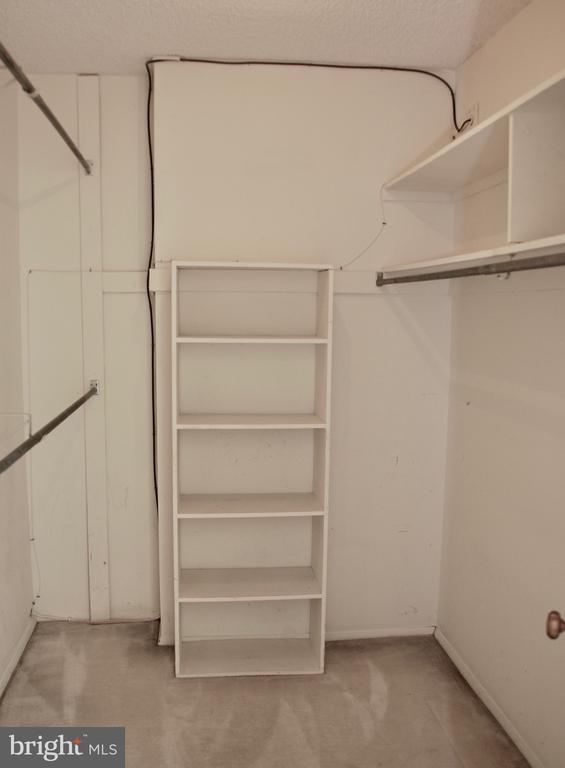 Walk-in Closet - 1800 OLD MEADOW RD #606, MCLEAN
