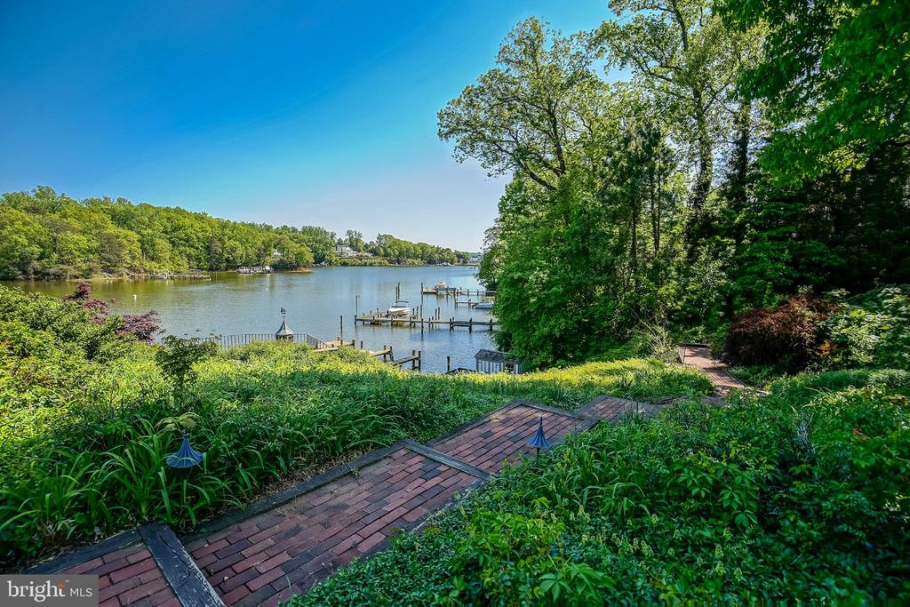 water view from the connecting walkway - 869 CHILDS POINT RD, ANNAPOLIS