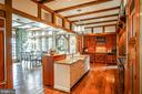Custom Cherry cabinets - 869 CHILDS POINT RD, ANNAPOLIS