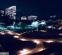 Night view of Courtyard - 1800 OLD MEADOW RD #606, MCLEAN