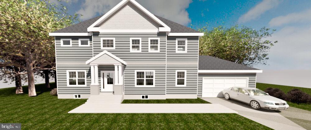 New Construction! 5 beds, 4.5 baths, 2 car garage - 7414 HAMILTON ST, ANNANDALE