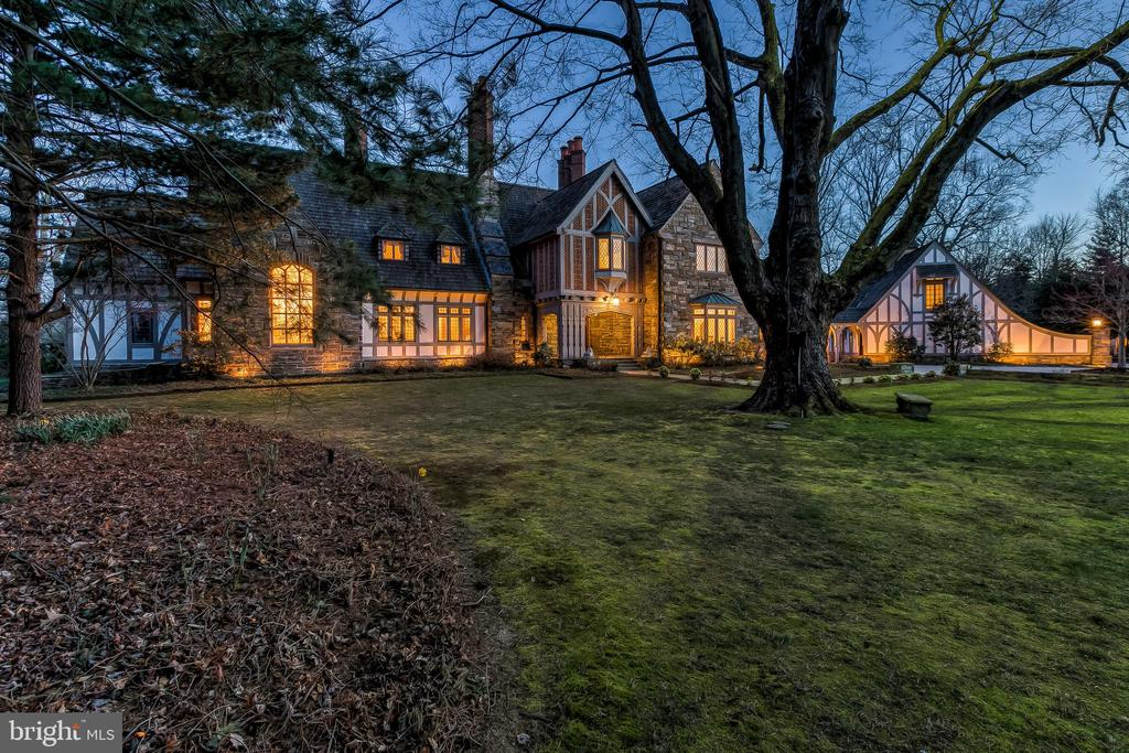 Front view at sunset - 869 CHILDS POINT RD, ANNAPOLIS