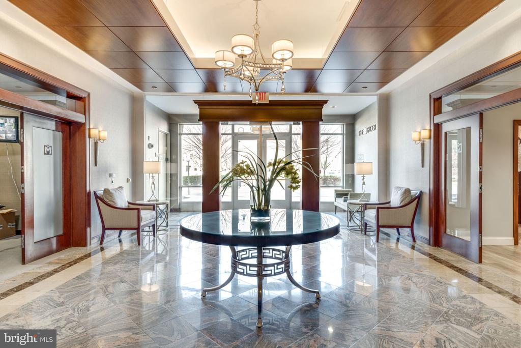 Secured beautiful main lobby - 11760 SUNRISE VALLEY DR #813, RESTON