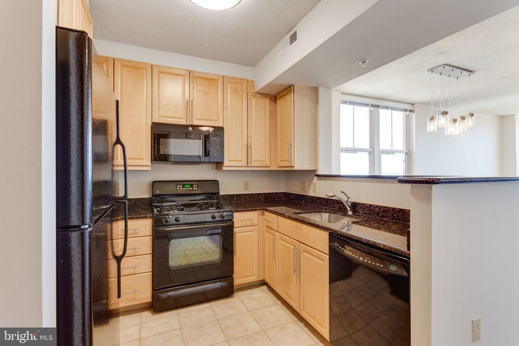 Spacious kitchen - 11760 SUNRISE VALLEY DR #813, RESTON