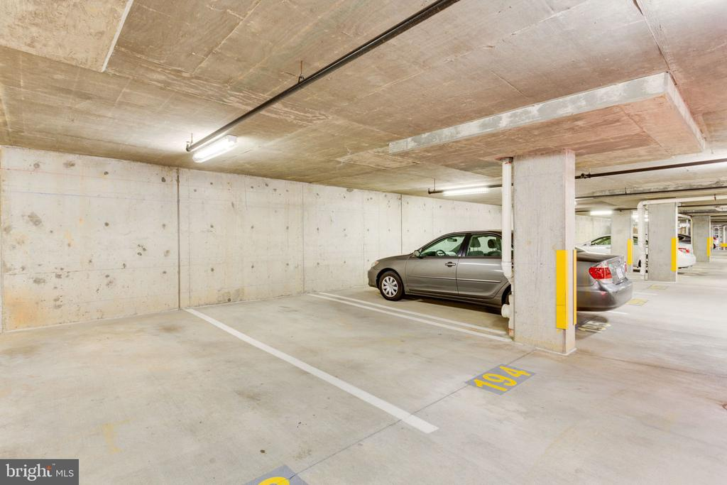 Secured underground parking space - 11760 SUNRISE VALLEY DR #813, RESTON