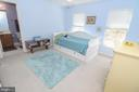 Bedroom 2: Princess Suite w/Full Bath - 43308 CLARECASTLE DR, CHANTILLY