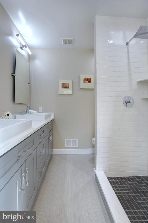 Ensuite is a beautiful blend of materials & style - 415 23RD PL NE, WASHINGTON