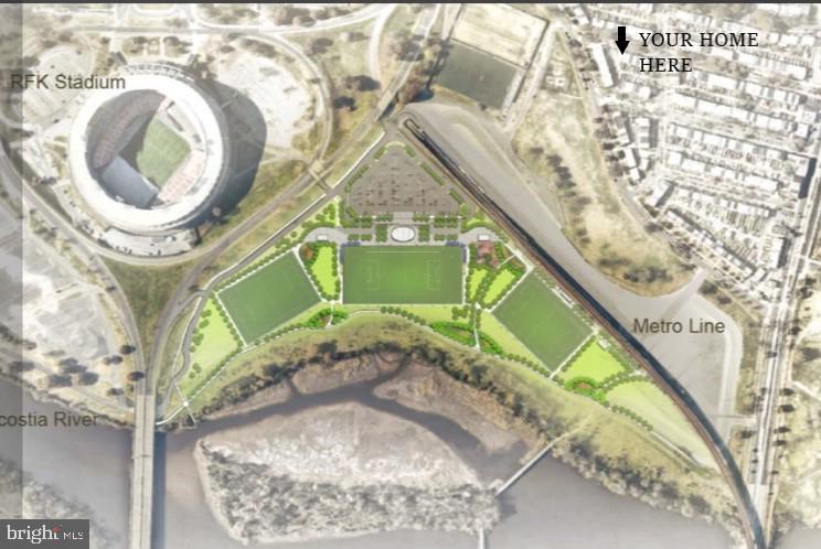 RFK youth sports fields less than 1 block away! - 415 23RD PL NE, WASHINGTON