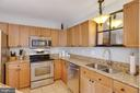 Double sink kitchen with lots of prep space - 111 SENTRY RDG, SMITHSBURG