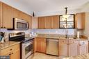Spacious kitchen with island - 111 SENTRY RDG, SMITHSBURG