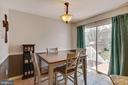 Room for dining table and step out to deck - 111 SENTRY RDG, SMITHSBURG
