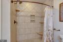 Custom tiled step-in Master shower - 111 SENTRY RDG, SMITHSBURG