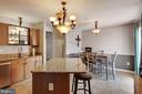 Outstanding eat in kitchen with deck access - 111 SENTRY RDG, SMITHSBURG