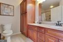 Master Bath with double vanity and extra cabinets - 111 SENTRY RDG, SMITHSBURG